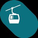Icône de grande taille de Exploitation des domaines skiables